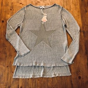 NWT Star Sweater